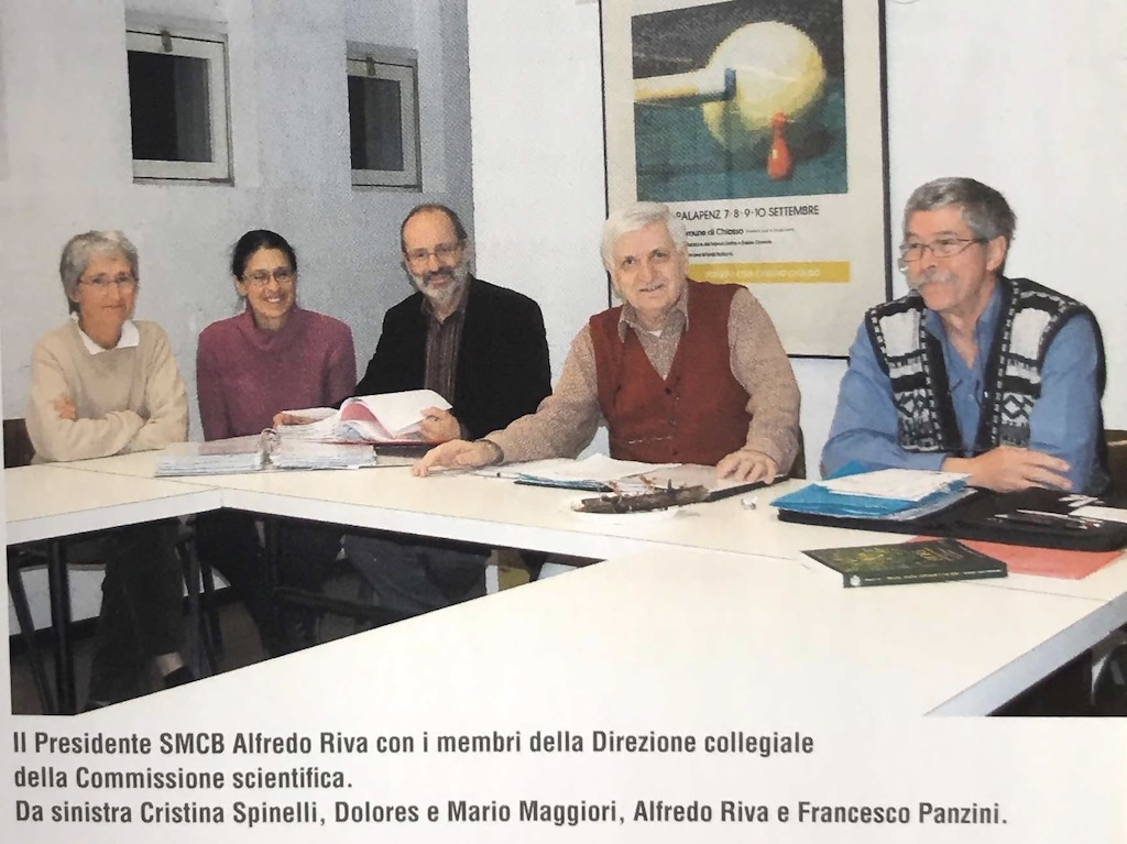 Comitato di redazione Funghi del Monte San Giorgio