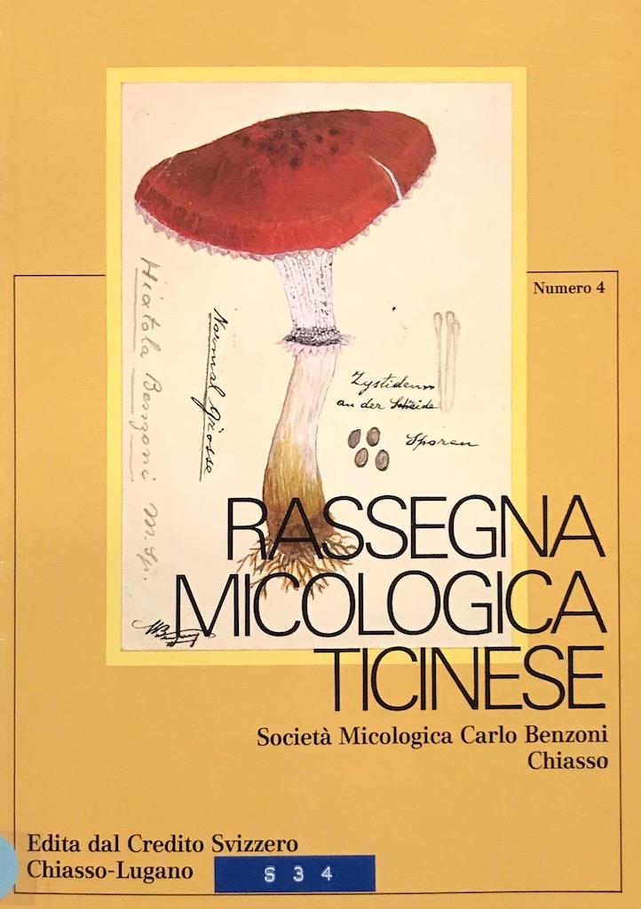 Rassegna Micologica Ticinese 4